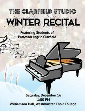 The Clarfield Studio Winter Recital